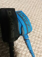 "2 Dakine Pro Comp Surfboard Leashes 5' x 3/16""  Black &  6' X 3/16' Blue NEW"