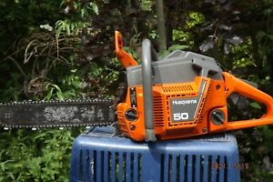 husqvarna 50 chainsaw