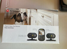Motorola Digital Video Pet Monitor System SCOUT500/2 3 Pc EUC baby