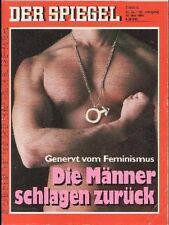SPIEGEL 22/1992 Feminismus und Machos