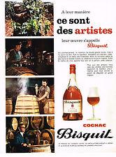 PUBLICITE ADVERTISING  1969   BISQUIT  cognac
