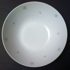 "Wunsiedel Porcelain Bavaria Large SERVING BOWL Snowflakes 9""diameter"