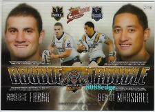 2009 SELECT NRL DOUBLE TROUBLE #DT16: ROBBIE FARAH/BENJI MARSHALL - WESTS TIGERS