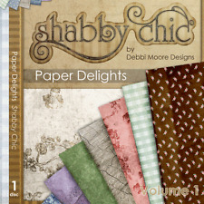 1 x Debbi Moore Designs Shabby Chic Paper Delights CD Rom (291226)