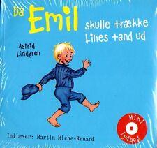 MINI CD Audiolibro Astrid Lindgren danese: poiché Emil skulle..., Michel Lönneberga