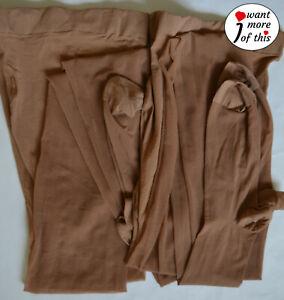 Wolford Vintage Fashion Strumpfhose Haut Tights 2 Stück Large