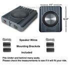 """Chevy Truck Radio Speakers Stereo Behind or Under Seat 8"""" Woofers w/ tweeters"""