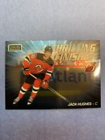 2019-20 OPC Platinum Thrilling Finishes Rookie #TF-21 Jack Hughes NJD Insert RC