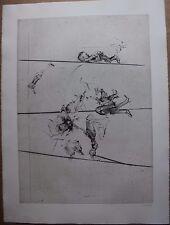 Gravure signée numérotée DADO Suite Haendel 1990 surréalisme surrealism pl.1 **