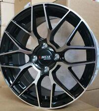 4pcs K-BREAK 15 inch Mag Wheels Rim 4X100 Alloy wheel Car Rim BLACK / GM YH531-2