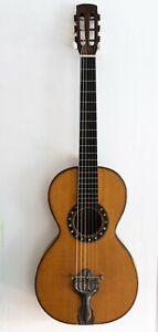 Vintage Antique 19th Century Panormo style Parlour Acoustic Guitar