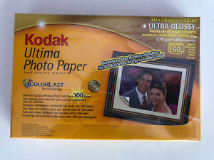 "Kodak Photo Paper Ultima Ultra Glossy 10x15cm (4x6"") - 270gsm 60 sheets  1385012"
