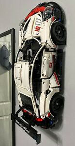 Ultimate Display Lego Technic Car wall mount Porsche, Ferrari, Rally car, RSR