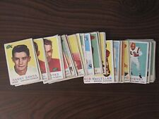 1959 Topps CFL. 83/88. Getty, Parker, Mosca, etc.