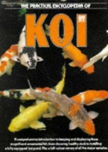 ENCYCLOPEDIA OF KOI Hardback Book The Cheap Fast Free Post