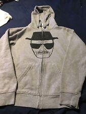 Walter White Heisenberg IML Breaking Bad Hoodie Hooded Zipper sweatshirt S Zip