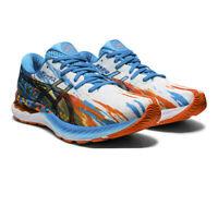 Asics Mens Gel-Nimbus 23 Noosa Running Shoes Trainers Sneakers Blue Orange White