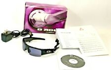 Oakley O Rokr BLACK/BRONZE Sunglasses W/ BOX.CABLE.CD.MANUAL.CHARGER Works #5154