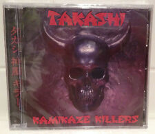SEALED MINT! TAKASHI Kamikaze Killers CD  2016 Re-Issue w/ Bonus Cuts! KISS CRUE