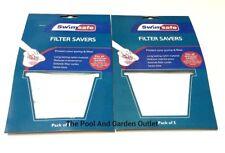 10 Pool Filter Savers Skimmer Basket Fine Mesh Screen Bag Debris Filter Sock