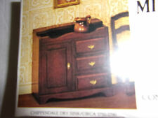 NIB XACTO DOLLHOUSE CHIPPENDALE DRY SINK KIT 1750-1790 WOOD PARTS