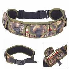 Tactical 12/20GA Shotgun Shell Ammo Holder Waist Belt Bandolier Cartridge Pouch