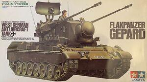 Tamiya Modellbausatz - Flakpanzer GEPARD West German Anti Aircraft Tank - 35099