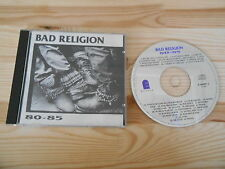 CD Punk Bad Religion - 80 - 85 (28 Song) EPITAPH USA