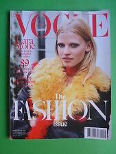 VOGUE NEDERLAND magazine September 2014 Lara Stone Calvin Klein Ghesquiere Nicol