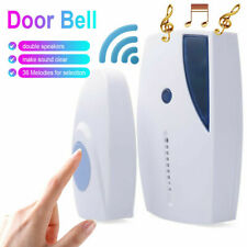 100M 36 Songs Chimes Wireless Door Bell 315MHz Home Cordless Receiver Control