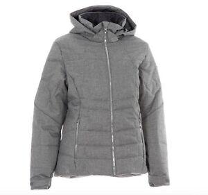Spyder Alia Women's Ski Snowboard Jacket Grey all Sizes New with Label