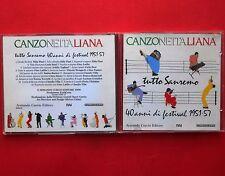 cd,canzone italiana,tutto sanremo,40 anni di festival 1951-57,claudio villa,boni