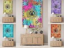 10 PC Wholesale Lot Lord Buddha Tapestry Table Deco Indian Handmade Wall Hanging
