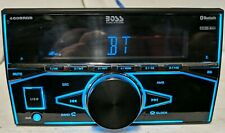 Boss Elite 480BRGB Double DIN Bluetooth Digital Media Car Stereo Receiver TESTED