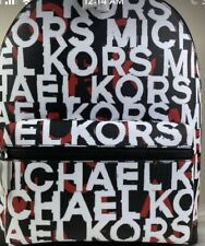 Michael Kors Men's Backpack Cooper Graffic Men's Backpack - Red / Black / White