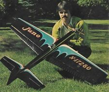 "Model Airplane Plans (UC): Juno 57"" Stunt for .46-.60 Engine by Bill Werwage"