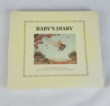 Vintage Baby's Diary memories Henriette Willebeek Le Mair Philomel Books