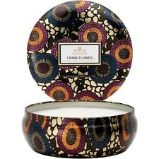 Voluspa Candle Crane Flower 12oz 3 Wick Candle