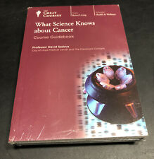 Teaching Co Great Courses CDs    WHAT SCIENCE KNOWS ABOUT CANCER    new & sealed