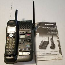 Panasonic KX-TG2382B 2.4 GHz Expandable Cordless Phone System Answering Machine