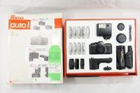"""EXCELLENT"" PENTAX AUTO 110 Film Camera Complete Kit w/ Box #200227ad"