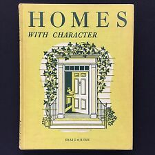 Vtg 1950s Home Economics Book Homes With Character Homemaking Design Furniture