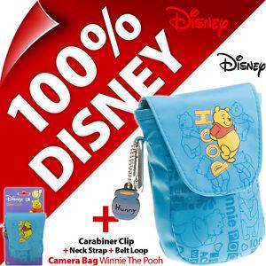 Disney Winnie The Pooh Compact Digital Camera Case Bag Canon Sony Samsung Fuji