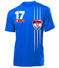 KROATIEN FANSHIRT FUSSBALL WM 2018 T-Shirt Herren S-XXL
