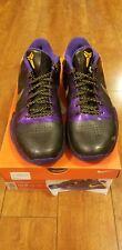 Zoom Kobe V 5 Lakers Away Del Sol Shoes Mens Basketball 386429-071 SZ 10.5