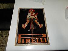 """Blechschild in Metall """" Pirelli """" Codognato Vintage"""