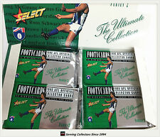 1995 Select AFL Series 2 Trading Cards Sealed Loose Packs Unit of 4--packs