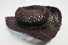 "Shyanne Women's Embellished Brim Straw Hat 21.5"" BC1C618"