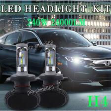 NEW High Power LED Headlight Bulb Lamp Kit 240W 24000LM H4 HB2 9003 Hi-Lo Beam