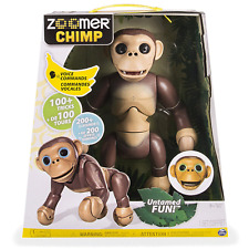 Zoomer Chimp With Over 100 tricks, 200 sounds and voice commands Age 5+